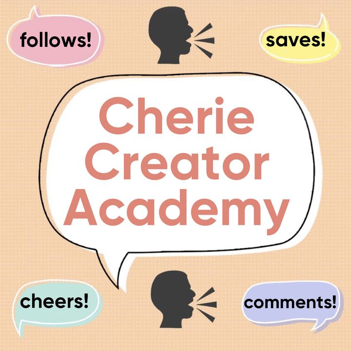 ✨Cherie Creator Academy - Add Text to Photos to Gain More Followers!
