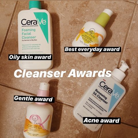 My Cleanser Awards