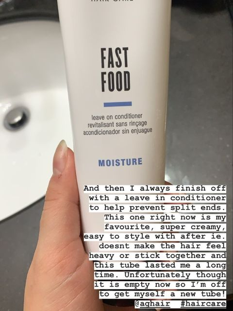 Empty- AG Fast Food leave in conditioner