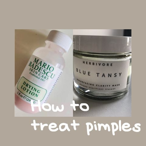 My Secret for Treating Pimples