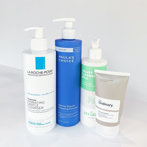 cleansers for sensitive & reactive skin