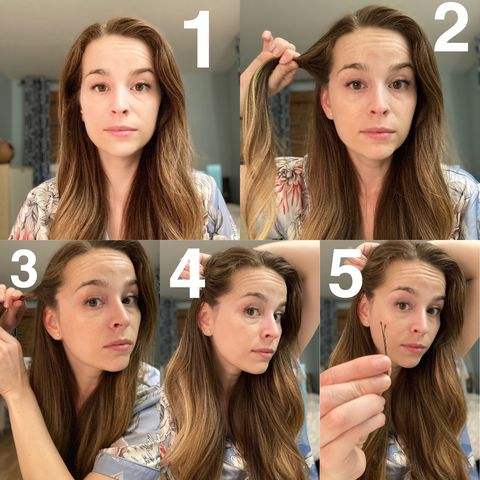 Super easy hairstyle