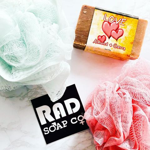 Rad Soap This cherry soap smel