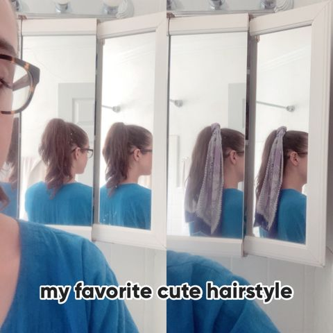 My favorite cute (and easy!) hairstyle