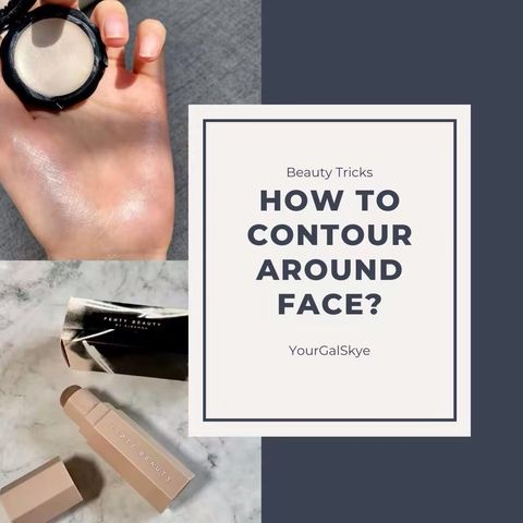 🔥Beauty Tricks   Round Face Come and Get it🔥