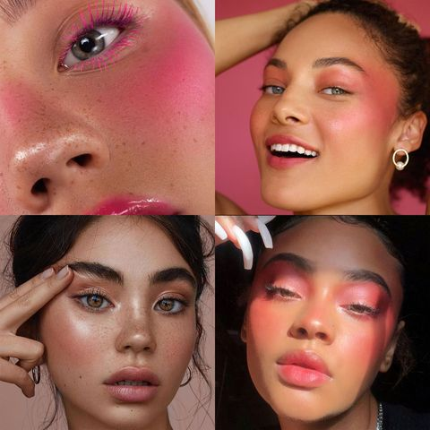 The Best Makeup Look Is Blush—Just Blush