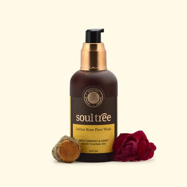 Indian Rose Face Wash with Turmeric & Honey