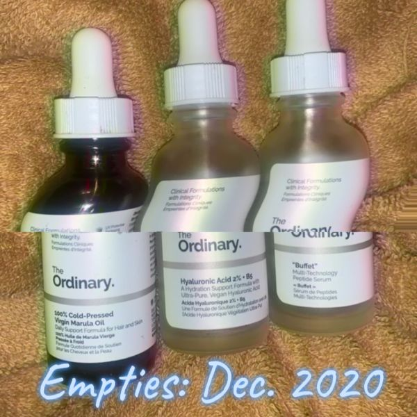 Empties: Which one will I repurchase next year? | Cherie