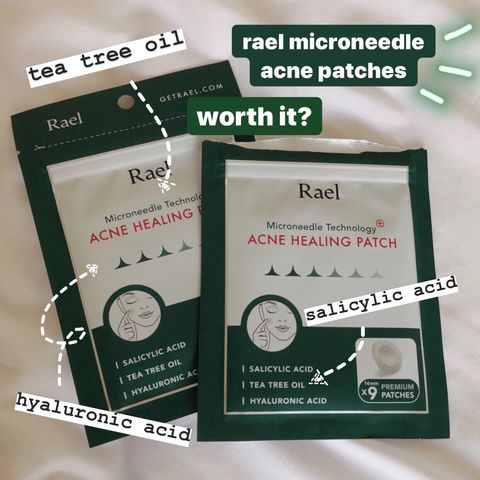 rael microneedle acne healing patches