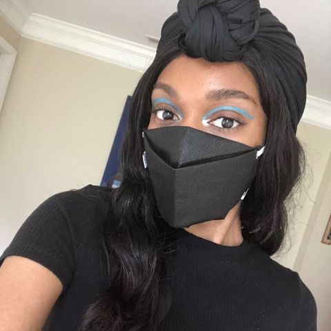 How To Do Your Eye Makeup While Wearing A Mask