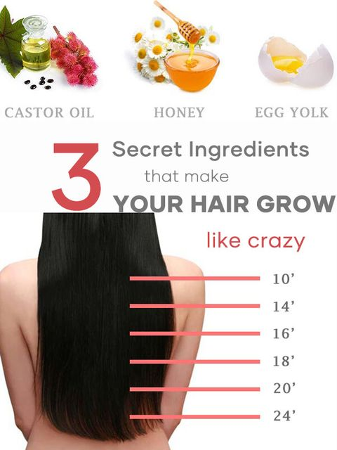 Make your hair grow naturally with only 3 ingredients