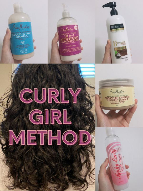 Curly Girl Method! I've tried these so you don't need to try again! | Cherie