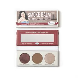 SmokeBalm Vol. 4 Foiled Eyeshadow Palette