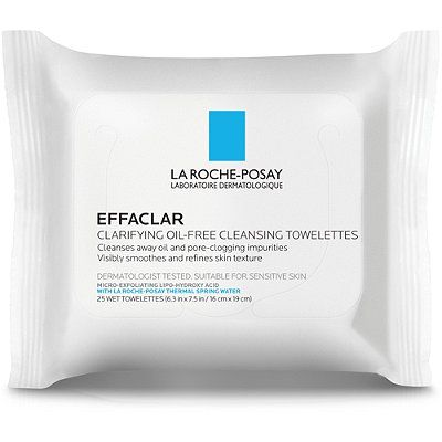 Effaclar Clarifying Oil-Free Cleansing Towelettes