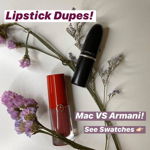 Best Armani Lipstick Dupes – Mac