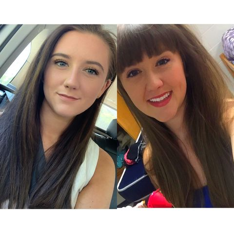 Drastic hair changes in the past 4 years 😍