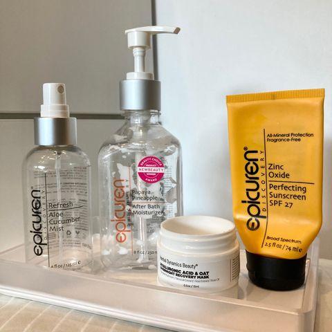 December skincare EMPTIES review