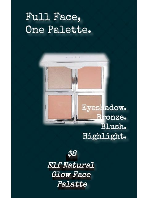 Only $8! Full Face, One Palette!