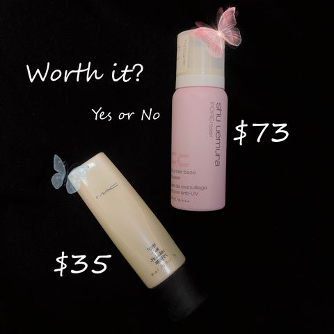 Butterfly Lady🎀White or Pink Face Primer?