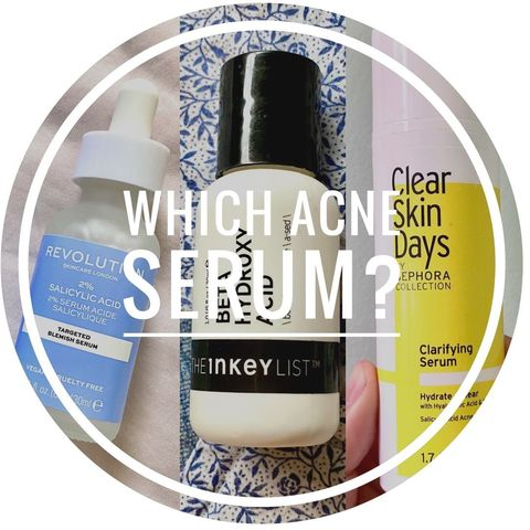 battle of the acne serums!