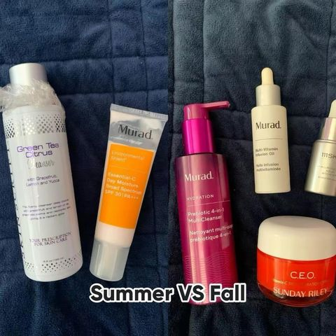 Summer 🏝  to Fall  Skin Care Switch Up! 🍁