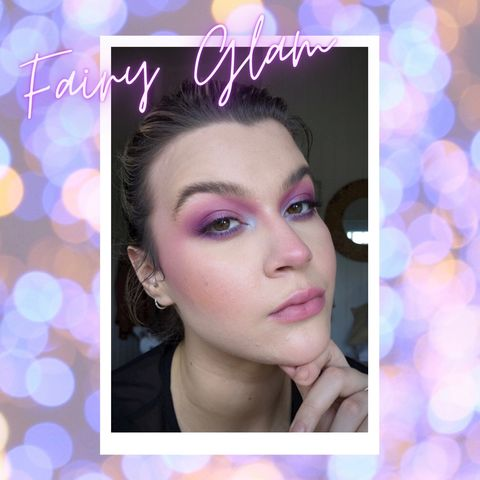 Easy Fairy Glam Makeup for Halloween 🧚🏻‍♂️