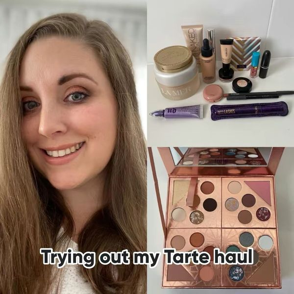 Trying out my Tarte sale haul! | Cherie