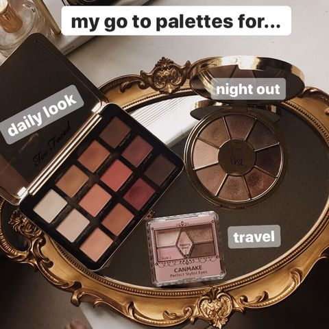 my go to palettes for....