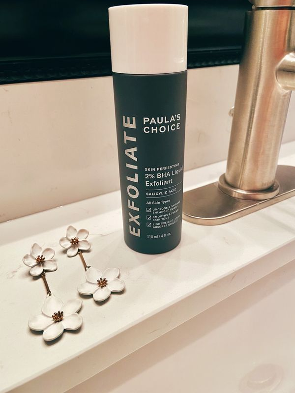 I finally got to try paulas choice 2% BHA liquid exfoliant for skin perfecting and... | Cherie