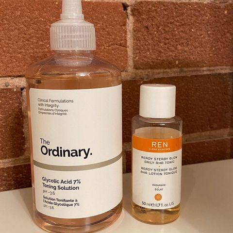 The two best toners!  The Ordi