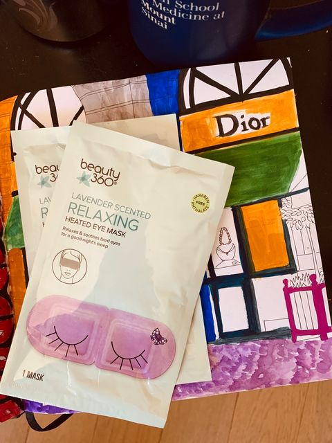 Get relaxed with this heated eye mask! 😊😊