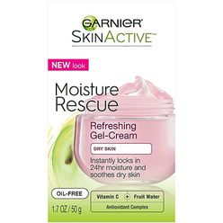 SkinActive Moisture Rescue Refreshing Gel-Cream For Dry Skin
