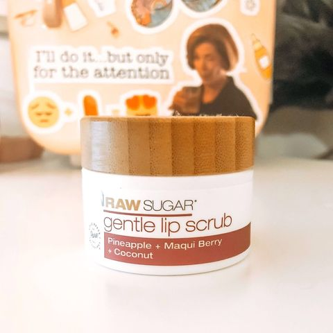 Raw Sugar makes a killer lip scrub!