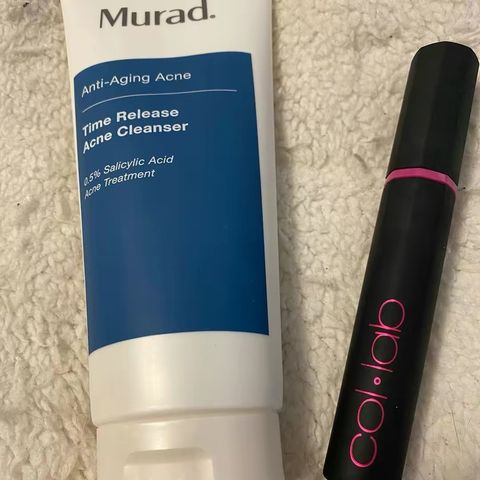 Keep on repeat-My favorite cleanser and mascara!