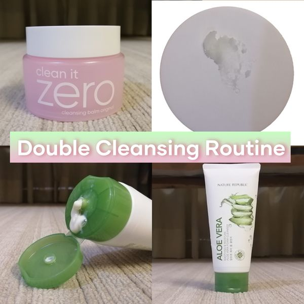 My Holy Grail Double Cleansing Routine!   Cherie