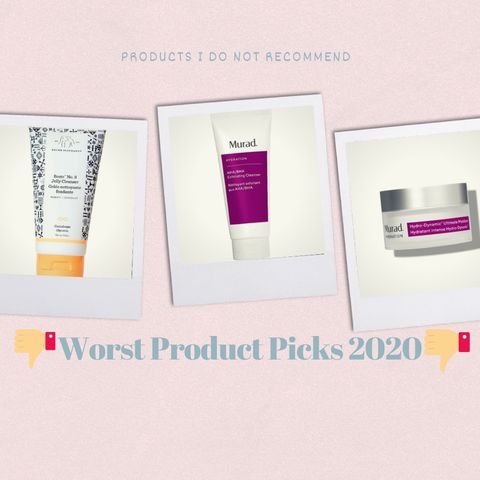 My Worst Products of 2020