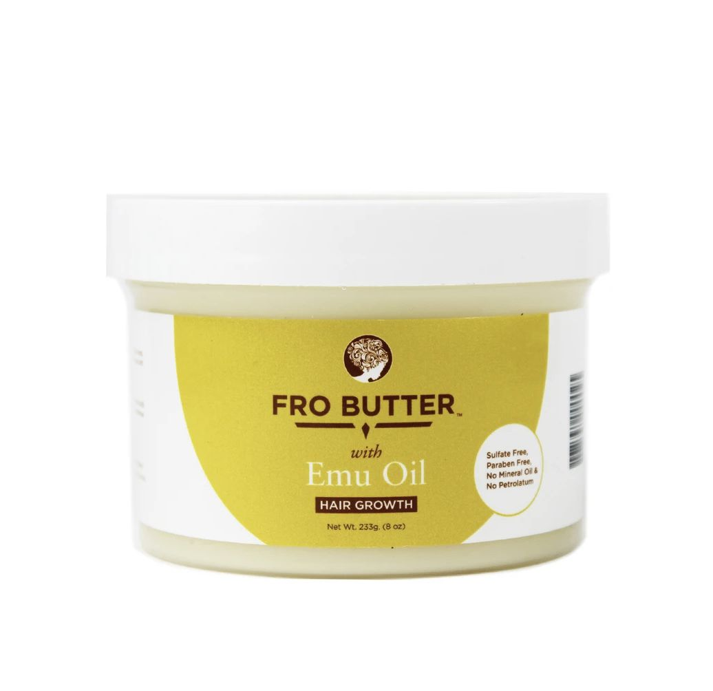 With Emu Oil - Hair Growth Butter