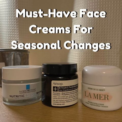 Magical Face Creams For Sensitive Skin🙌🙌