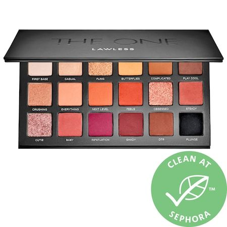 The One Eyeshadow Palette, LAWLESS, cherie
