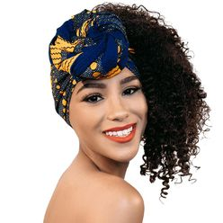 Handcrafted Headwrap & Pocket Square Redemption