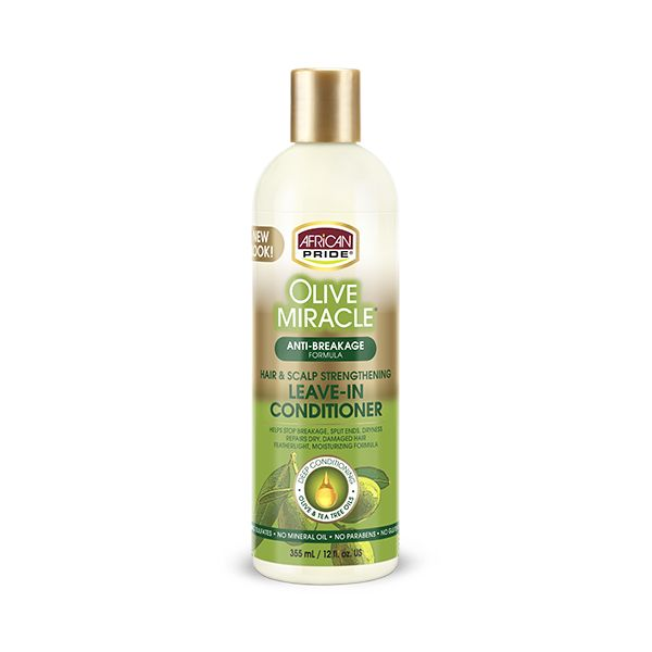 Olive Miracle Anti-Breakage Leave-in Conditioner