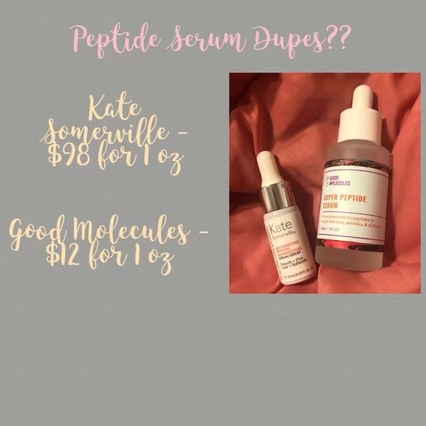 Peptide Serum Dupes??   Cherie