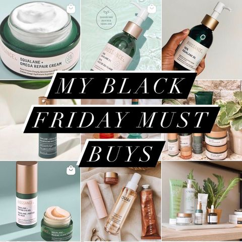 ✨MY BLACK FRIDAY MUST HAVES✨