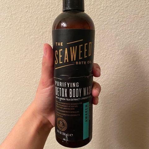 The most wonderful smelling body wash ever