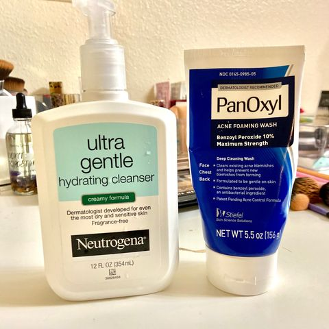 My Acne Cleansers
