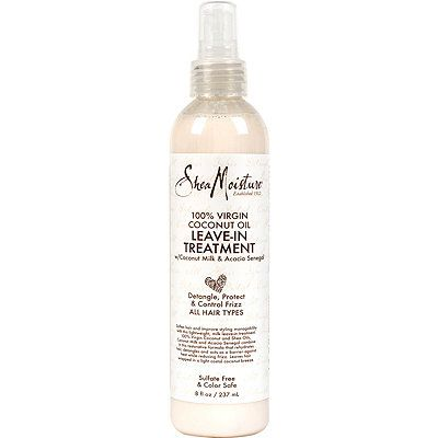 100% Virgin Coconut Oil Daily Hydration Leave-In Treatment, SheaMoisture, cherie