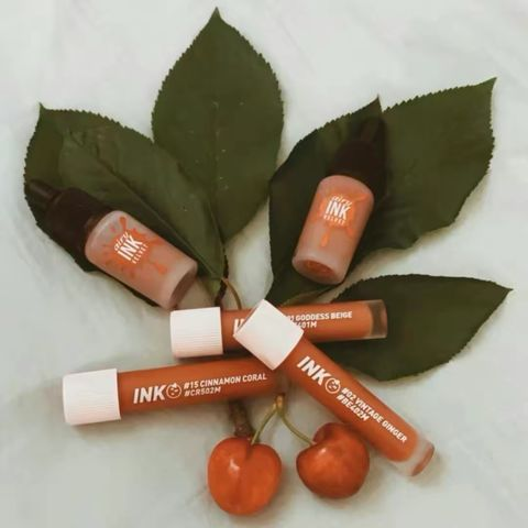Peripera Lip Tints for Warm Undertones