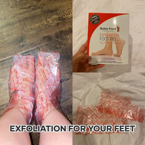 What are thoooose?!?? Exfoliation for your feet!