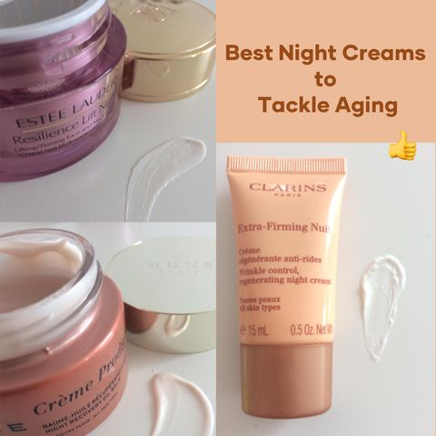 Tackle Aging! Here're my 3 Favourite Night Creams
