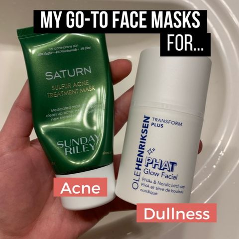 My go-to face masks 💆🏻‍♀️